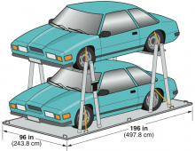 M-6 Twin Car Rack
